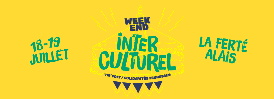 Weekend interculturel : 18 -19 juillet