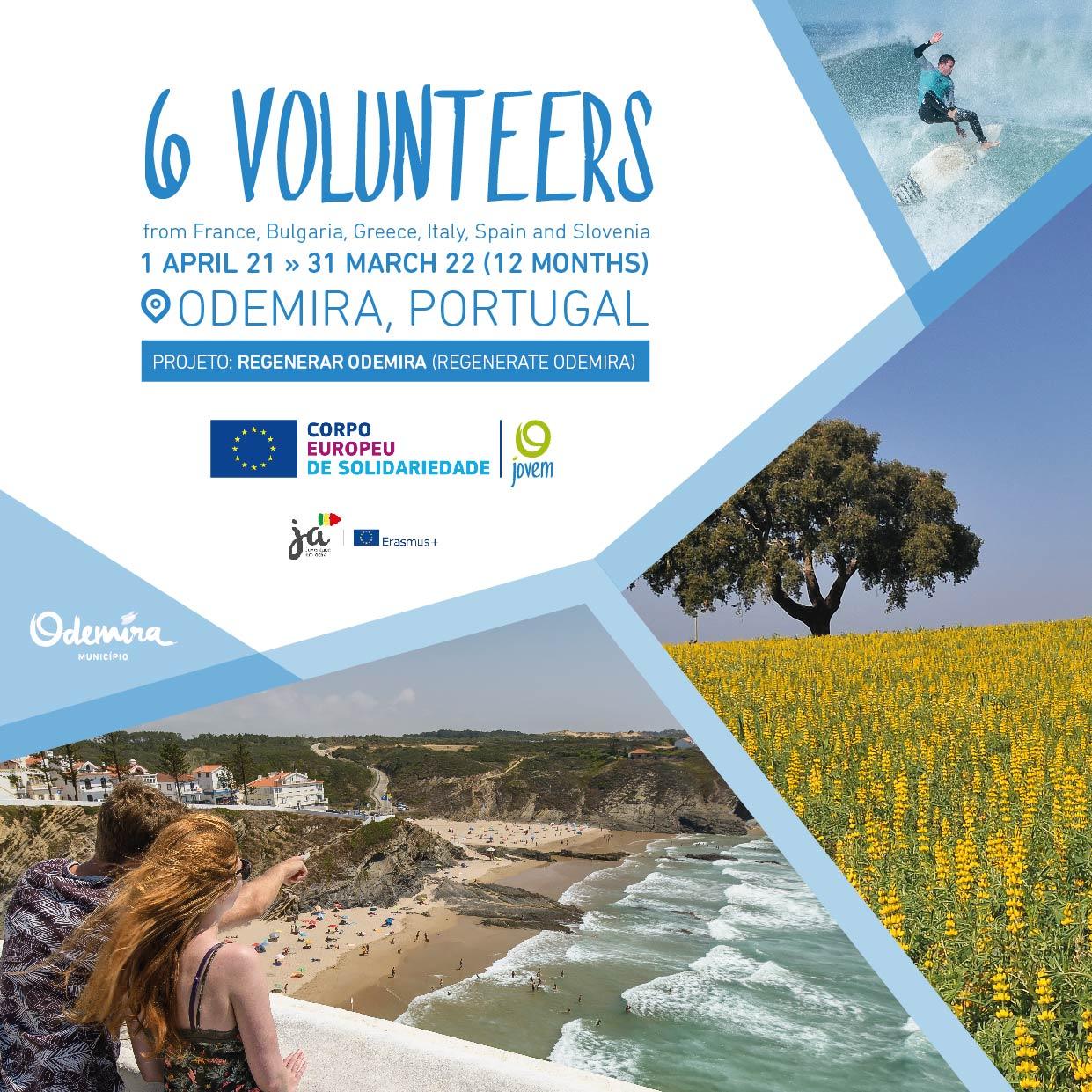 3  Projets de volontariat long-terme au Portugal